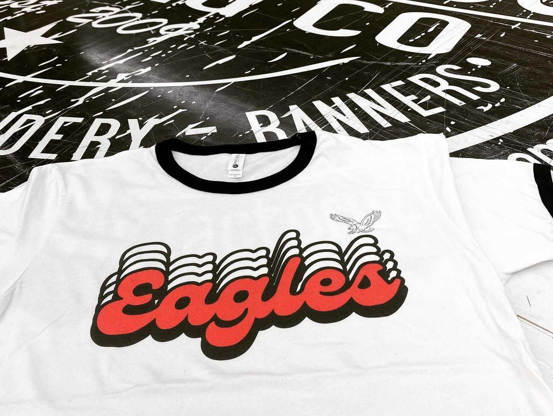 Retro Eagles Design