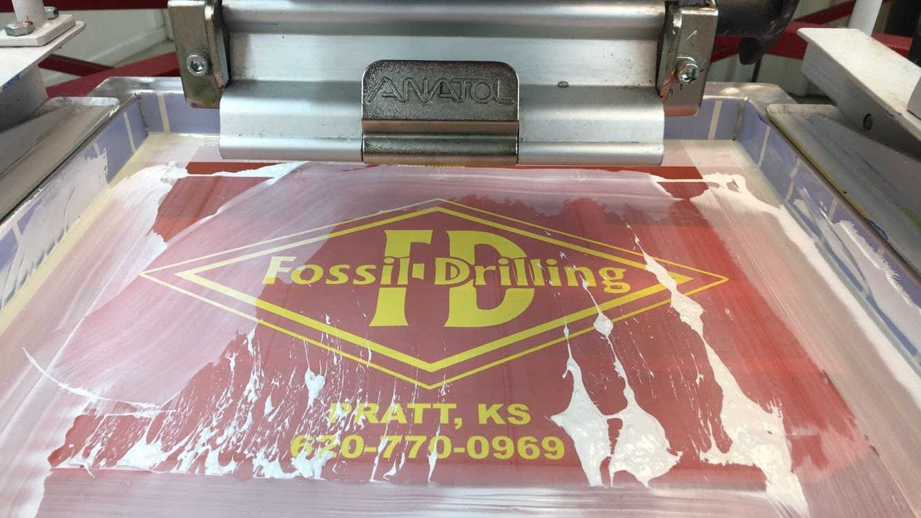 Fossil Drilling Screen