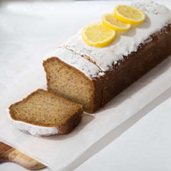 Lemon poppy loaf cake | 12 plakken