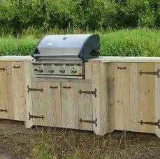 Sloophouten BBQ - Particulier