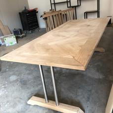 Eiken tafel - Particulier
