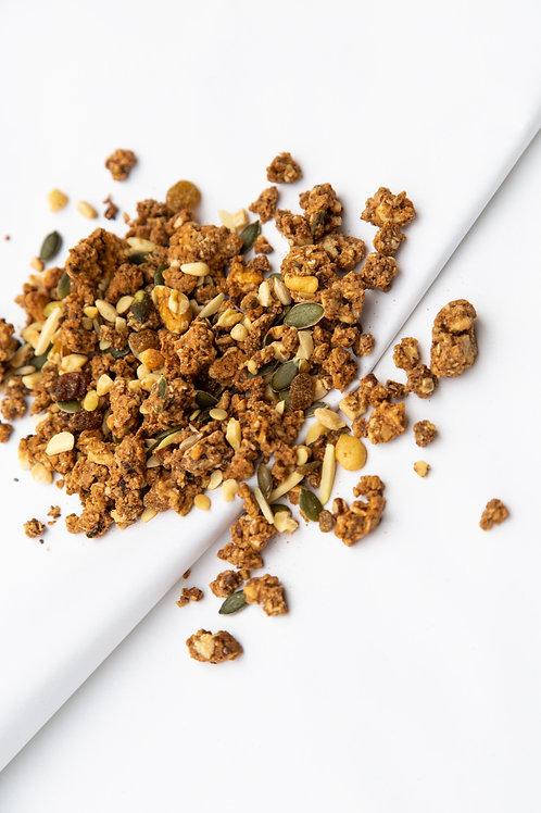 Granola (gluten arm, geraffineerde suikervrij) (200 gr)