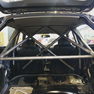 Safety rollbar for Audi A3