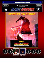 New Allied Fighters Vol. 1, Issue 2 Cover