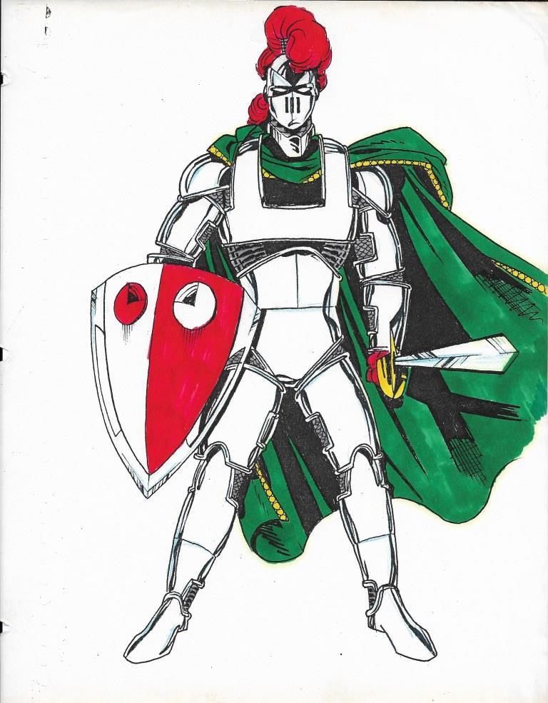 Excalibur-1990s Original Art