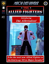 Allied Fighters Vol. 1, Issue 2 Cover