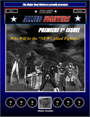 New Allied Fighters Vol. 1, Issue 1 Cover