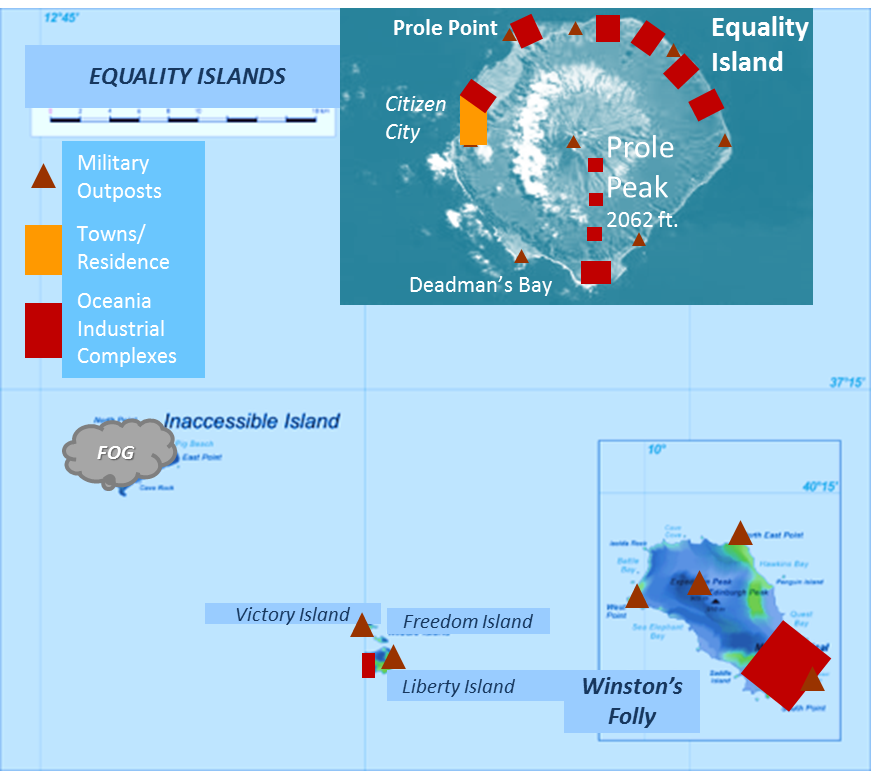 Equality Islands Map