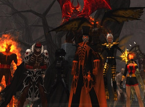 Master of Maleficence Group Shot