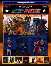 New Allied Fighters Vol. 1, Issue 6 Cover