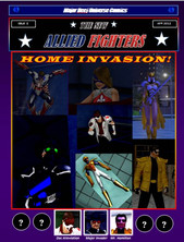 New Allied Fighters Vol. 1, Issue 3 Cover