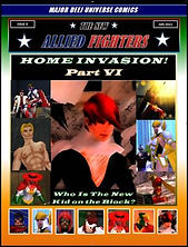 New Allied Fighters Vol. 1, Issue 8 Cover