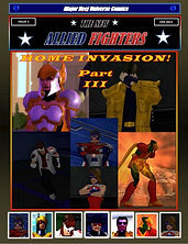 New Allied Fighters Vol. 1, Issue 5 Cover