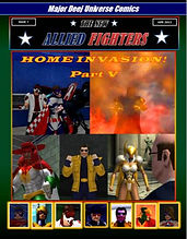 New Allied Fighters Vol. 1, Issue 7 Cover