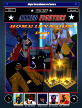 New Allied Fighters Vol. 1, Issue 4 Cover