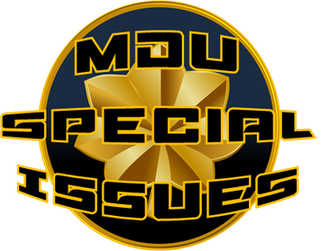 Major Deej Universe (MD) Speical Issues Logo