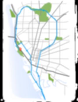 SkyRide Buffalo 2018 Route map