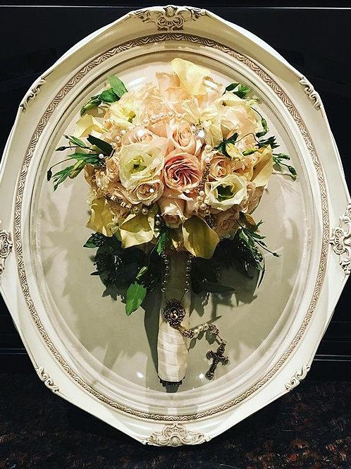 Oval Frame - Floral Preservation