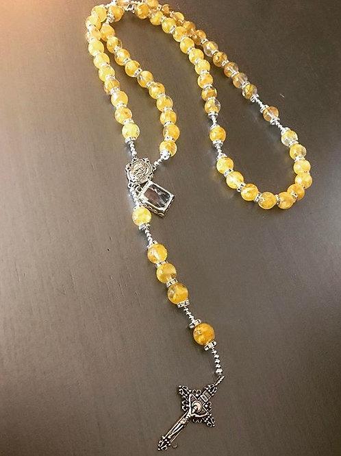 Rosary - ALL Petal Beads