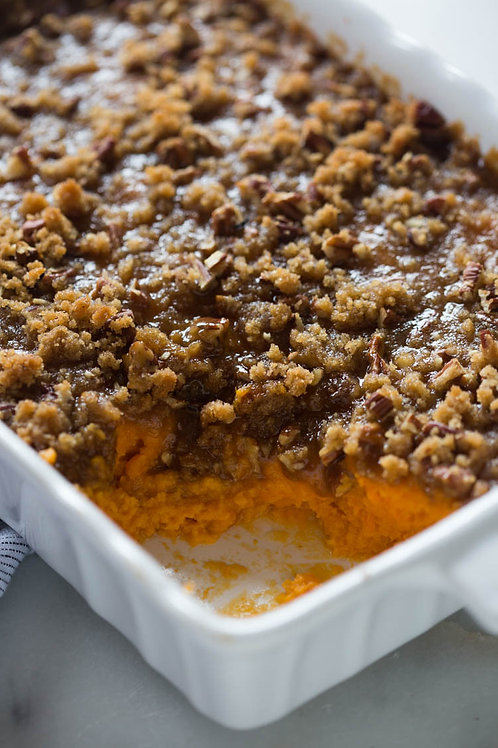 Sweet Potato Casserole**