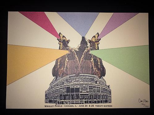 Phish Wrigley Field Poster