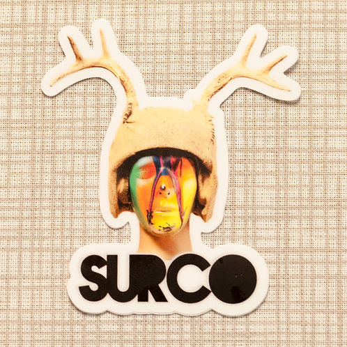 Surco Antler Sticker