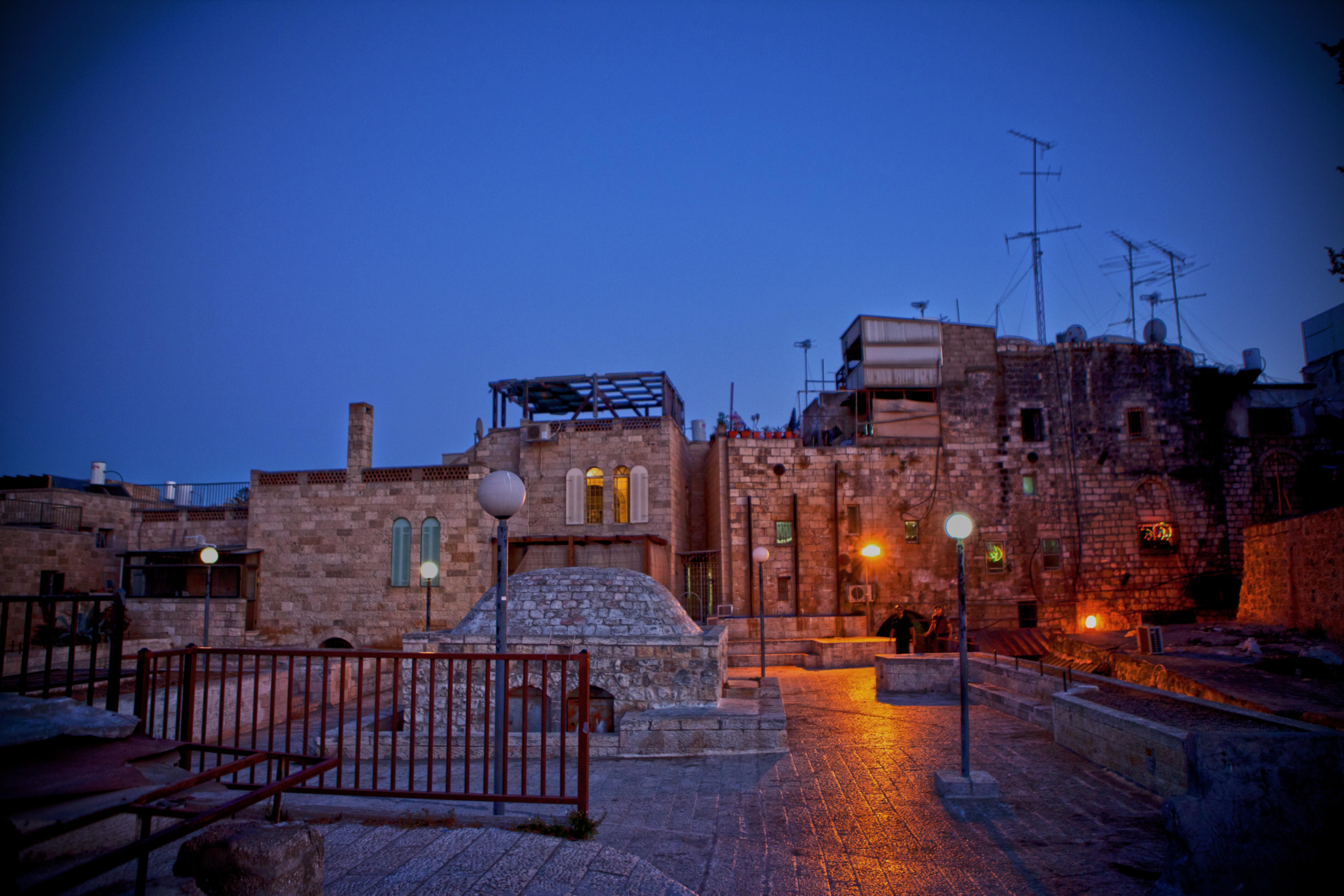 jerusalem rooftops