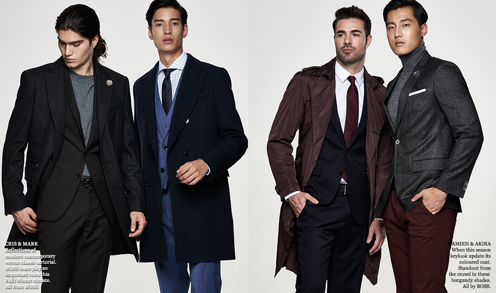 Fashion One Thailand The Editorial Fall/Winter 2017: The Gentlemen Club