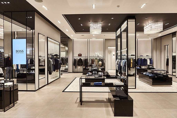 New BOSS Store Concept at Siam Paragon