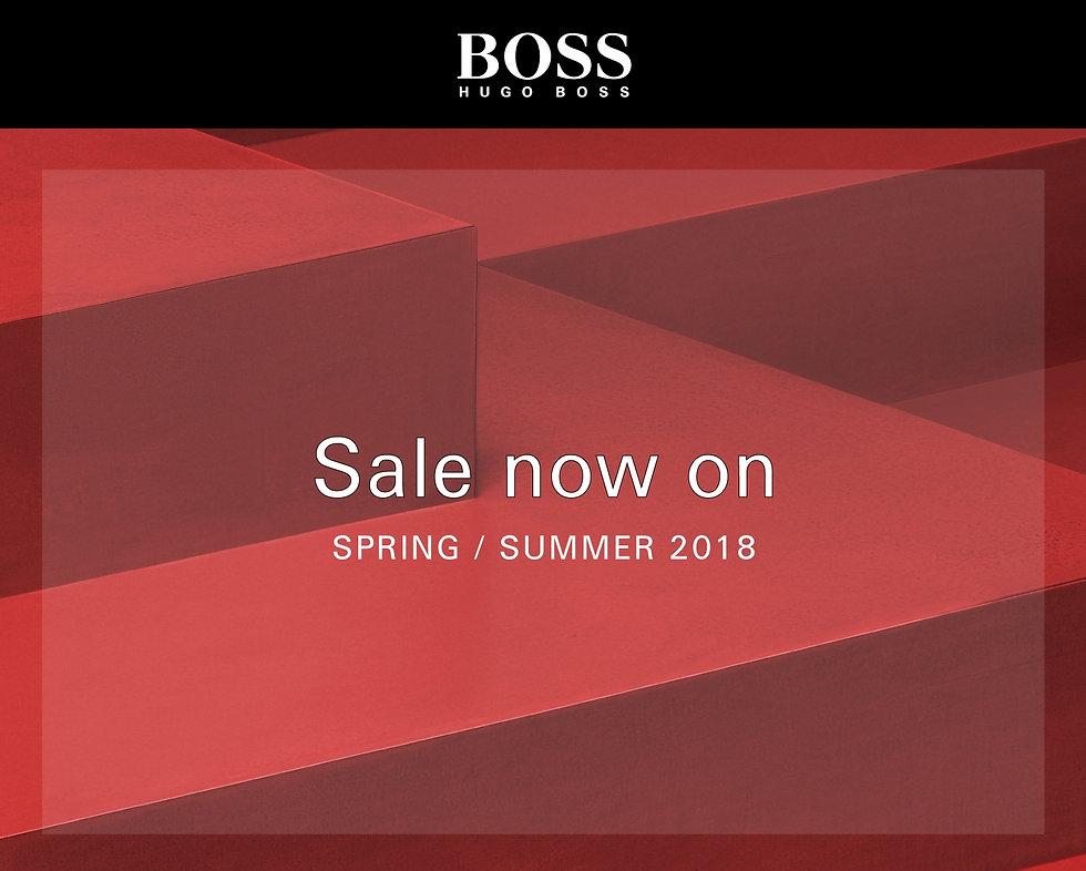 BOSS SS18 End of Season Sale