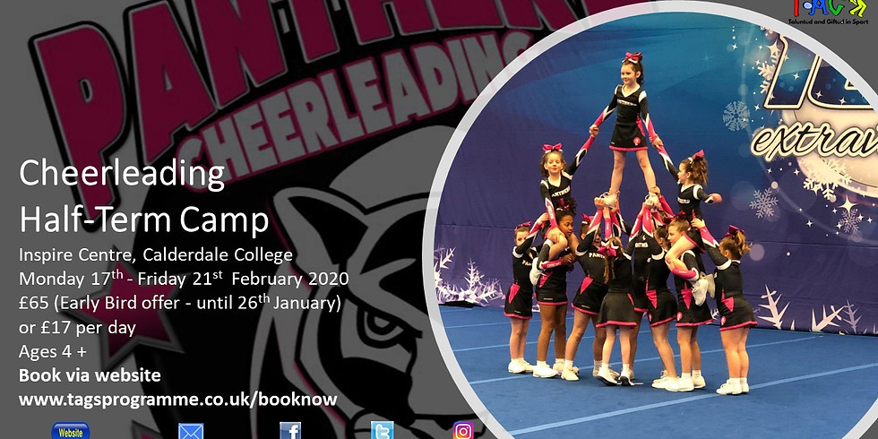 Panthers Cheerleading February 2020