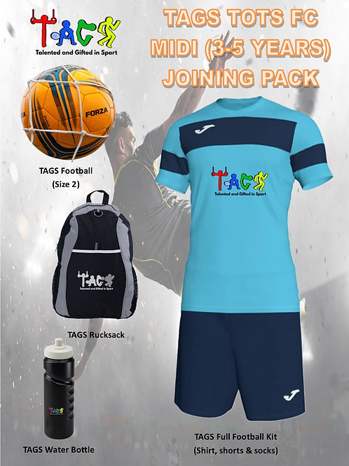 TAGS TOTS FC (MIDI) Joining Pack