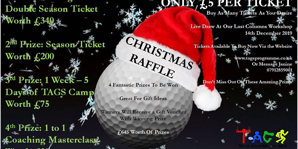 TAGS Christmas Raffle Tickets