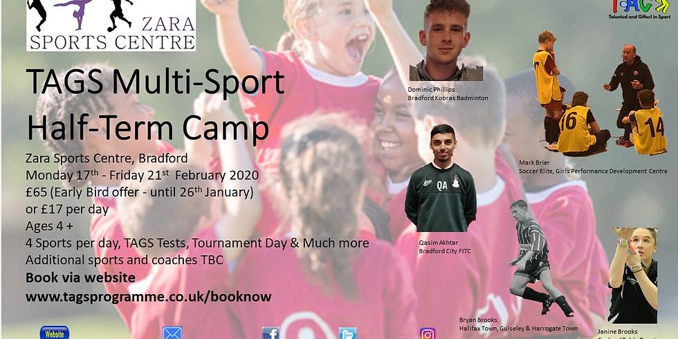 TAGS Camp (Bradford) February 2020