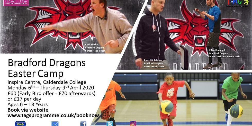 Bradford Dragons Basketball Camp Easter 2020