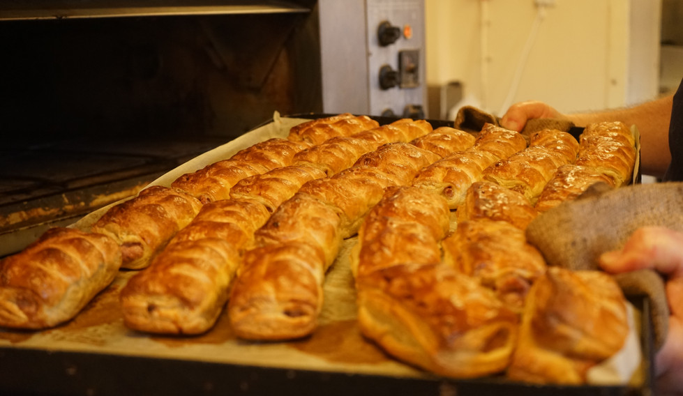 Sausage rolls fresh out the oven!