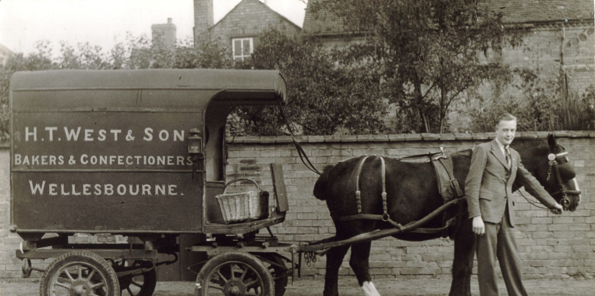 The H.T Wests & Sons Horse and Cart