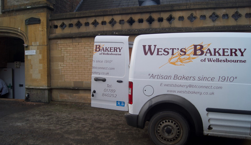 Delivery at Ettington Park Hotel