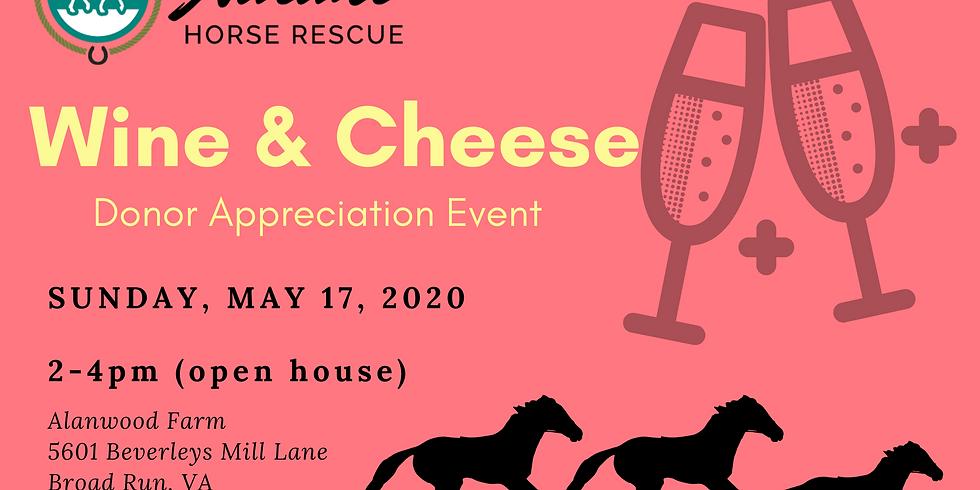 Wine & Cheese Donor Appreciation Event