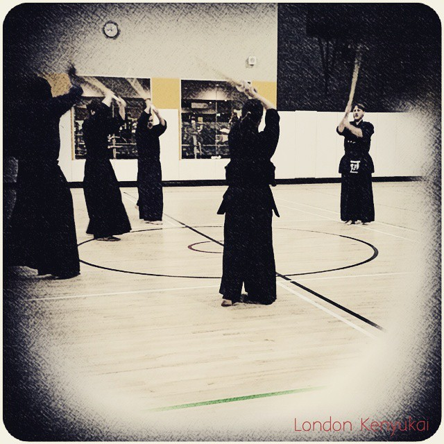 Instagram - #Londonkenyukai every monday & wednesday 20:30-22:00. all levels are