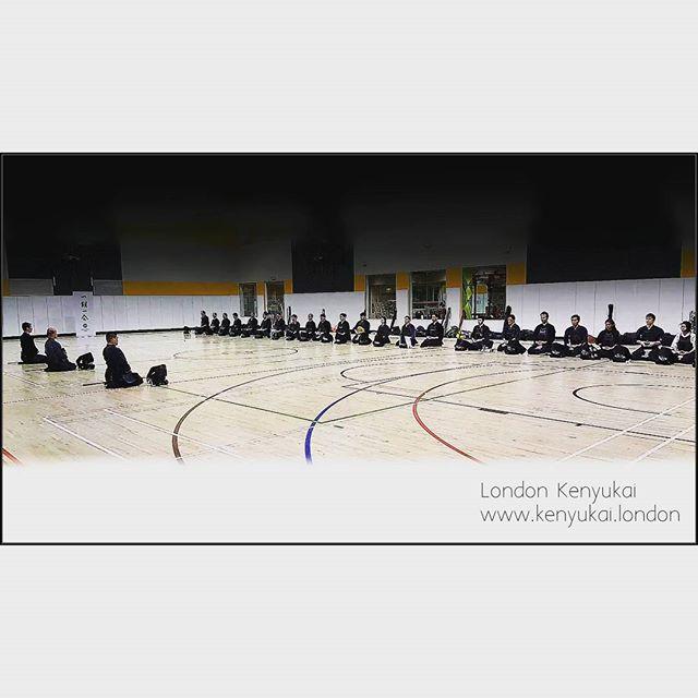 Instagram - #mokuso #regi  #一期一会  #ichigoichie  #kendo #londonkenyukai  #London