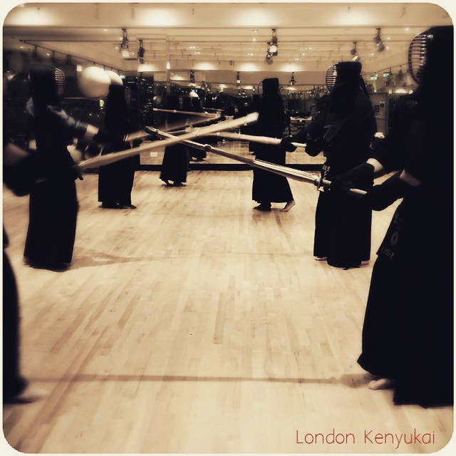 Instagram - #londonkenyukai  monday session. Thanks to all guys.  Let's enjoy bu
