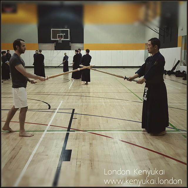 Instagram - #londonkenyukai  #beginners course #kihon #kamae #maai #kendo #koken