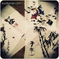 Instagram - #kendo #tenugui #kendogu  #eurokendo #mushin #heijoshin #sakura