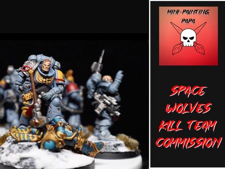 Mini Spotlight: Space Wolves Kill Team Commission