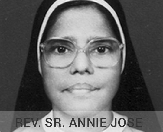 Rev Annie Jose