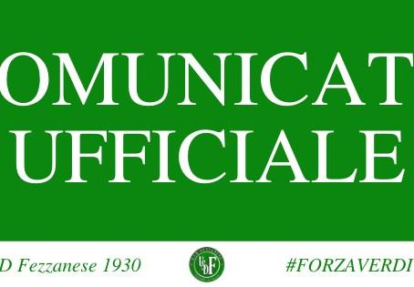 Comunicato ufficiale: Diego De Martino è il nuovo Addetto Stampa