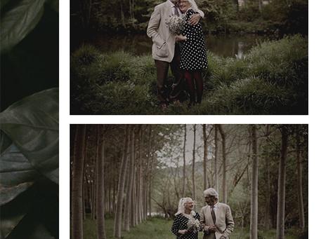 Réplica de las fotos del álbum de nuestros padres