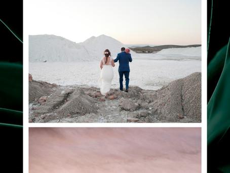Tania y Héctor. Boda en Cabo de Gata.