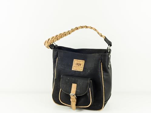Dumosa Crossbody Bag | Cork in black 2019